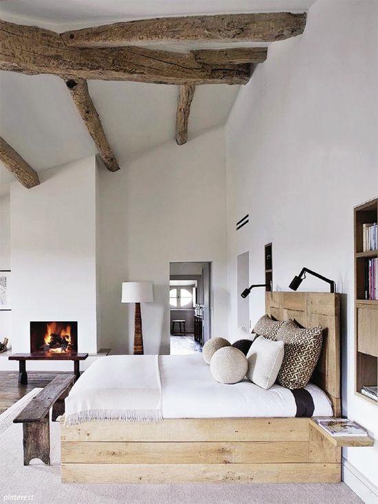 sypialnia w stylu eko