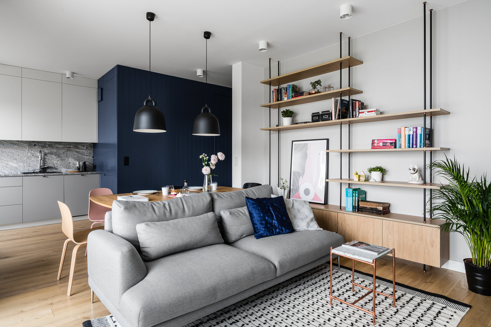 Projekt mieszkania w stylu skandynawskim klasyka i elegancja for Decoracion de departamentos modernos