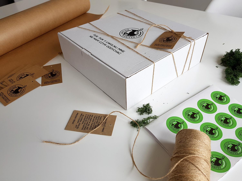 zielony renifer