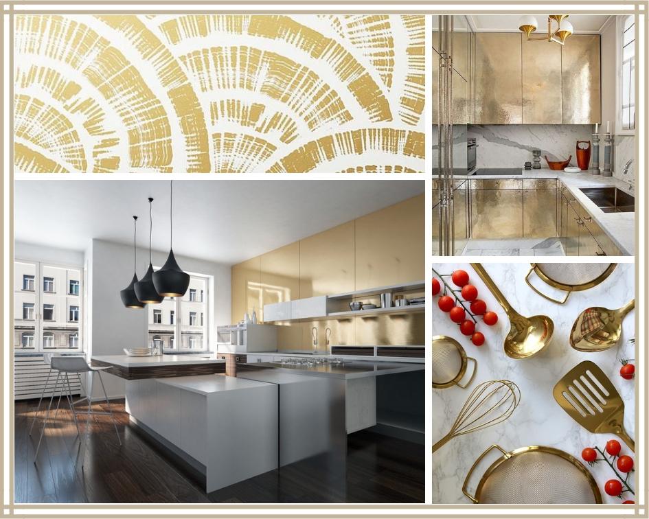 złoto w kuchni